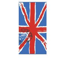 ΠΕΤΣΕΤΑ ΘΑΛΑΣΣΗΣ 75x150 LONDON Flag, London, Country, Nice, Art, Art Background, Rural Area, Kunst, Science