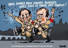Ménard joue la provocation anti-migrants à Béziers