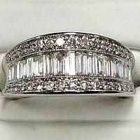 Stunning Diamond Band 1 cttw white gold