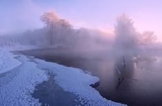 "9d88b43a1a1 magic-spelldust: "" Pastel Winter Scenes (photos by Алексей Угальников) """