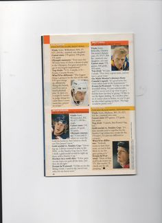 98 mens team article page 2 Usa Hockey, Right Wing, Olympics, Skiing, Memories, Ski, Memoirs, Souvenirs, Remember This