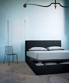 If you want the charm of a comfortable bed and the functionality of a storage unit, with Dominique by Ivano Redaelli you can have both in one beautiful bed.