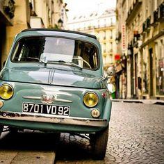 Fiat 500 Car, Fiat Cars, Fiat 600, Fiat Cinquecento, Fiat Abarth, Retro Cars, Vintage Cars, Tour Eiffel, Turin