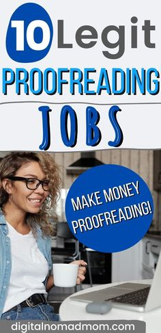 Looking to start a freelance proofreading job at home? Proofreading is experiencing rapid growth and is a great way to make a side income or even a full time job! This is a profession that you can do from anywhere in the world - perfect for digital nomads.
