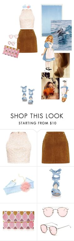 """""""-Candy wrapper-"""" by erlafashionarchitect ❤ liked on Polyvore featuring River Island, Altuzarra and From St Xavier"""