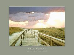'Sylt Sunset' von Dirk h. Wendt bei artflakes.com als Poster oder Kunstdruck $19.41