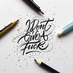 Well fair enough then. Type by @typebychris | #typegang if you would like to be featured | typegang.com | typegang.com #typegang #typography