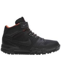On Sale Nike Mogan Mid 2 Oms Hiking Boots Black/Dark Grey/Urban Orange/Black 2013. FREE shipping over $50.