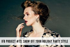 IFB Project #73 - Show off your holiday style