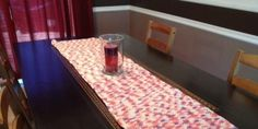 Make a crocheted table runner - free pattern
