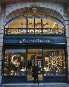 Guerlain, a French perfume house, among the oldest in the world.