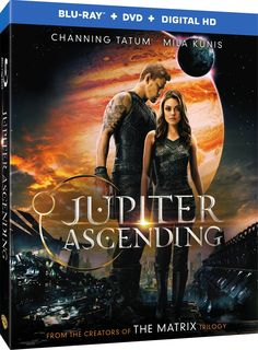 Jupiter Ascending (2015)   In a universe where humans are near the bottom of the evolutionary ladder, a young destitute human woman is targeted for assassination by the Queen of the Universe because her very existence threatens to end the Queen's reign.  Directors: Andy Wachowski, Lana Wachowski  Starring: Eddie Redmayne, Channing Tatum, Mila Kunis, Sean Bean, Douglas Booth  #Bluray #JupiterAscending