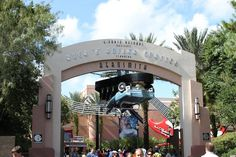 This is the 1st ride that I went upside down on... Rockin' Roller Coaster- Hollywood Studios