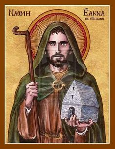 St. Enda of Aran, a warrior-turned-monk considered to be one of the founders of Irish monasticism.