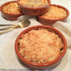 Crumble Pomme Caramel, Chefs, Bread Recipes, Cooking Recipes, Biscuits, Nutella, Sweet Tooth, Bakery, Food And Drink
