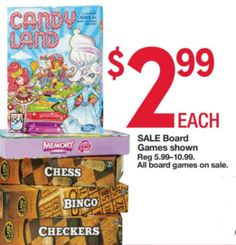 Kmart Thursday Door Busters 2015: Board Games Only $2.99