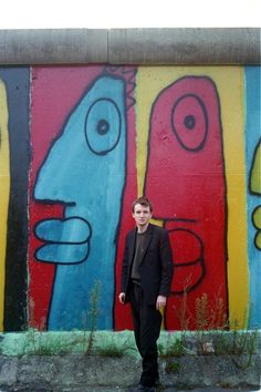 Graffiti in the death strip: the Berlin wall's first street artist, Thierry Noir, tells his story