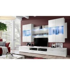 ENSEMBLE MEUBLE TV BASTIA 300CM