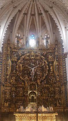 Altar Mayor de la iglesia de la Cartuja de Miraflores