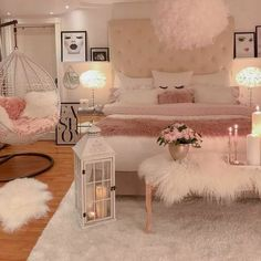 75 Young Girl Bedroom Designs - Inspiration and Ideas for Your Dream Bedroom - dougryanhomes Room Design Bedroom, Room Ideas Bedroom, Bedroom Photos, Teen Bedroom Designs, Dream Bedroom, Bed Room, Master Bedroom, Bedroom Design For Teen Girls, Teen Bedroom Furniture