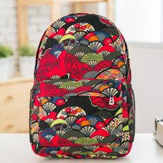Women backpacks 2014 Fashion Striped Style school backpack small ...