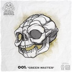 A collection of 15 parody skulls inspired by the creatures and characters of Star Wars. Backers receive detailed nylon copies of skulls