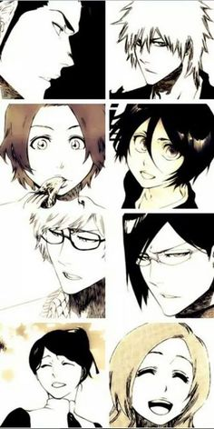 Just love their past stories ~  but SOOO SAD T^T   also Tite Kubo drawing style is THE BEST!!!