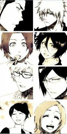 Bleach. Manga Anime, Anime Nerd, Anime Naruto, Bleach Fanart, Bleach Manga, Ichigo Y Rukia, Aho Girl, Departed Soul, Tsurezure Children