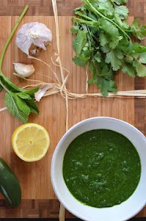 Mint Chutney ( Dressings and Sauces from India )