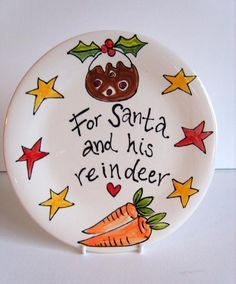 Personalised Christmas Gift Plate