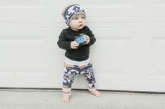 Beige & Blue Diamond Leggings, Baby Leggings, Toddler Leggings, Child Leggings, Leggings