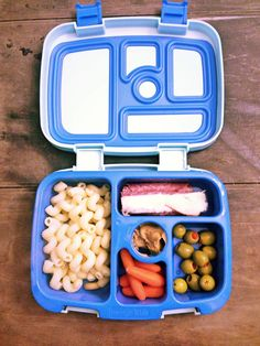 Bentgo Kids Lunch Box ideas from Fit Kids Playground #bento #kidslunchbox | This looks like the perfect size for kids; As a child I was never able to finish my school lunch in time to play outside