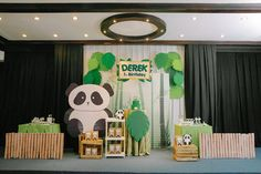 Derek's Panda Themed Party – 1st Birthday - Party Doll Manila