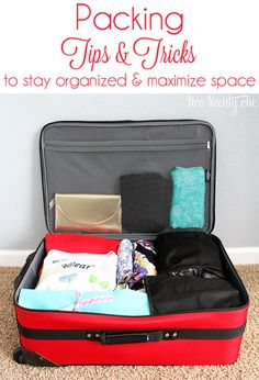 Organizing: Travel Tips that Pack a lot of Punch! We take care of all the details, you just need to pack your bag!