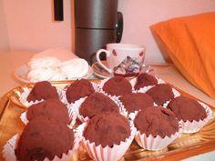 Tartufini#chocolatetruffles#lazymorning#coffeebreak