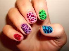 Animal print nails Leopard print nails #nailflash