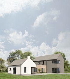 #corkarchitect#ballincollig#newhousedesign Building Extension, Rural House, Two Storey House, Planning Permission, Semi Detached, New Builds, Bungalow, Building A House, House Plans