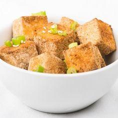 Baked Tofu Nuggets. Taste like chicken nuggets!