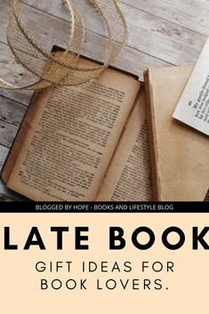 Late Book Gift Ideas For Book Lovers. - BLOGGED BY HOPE