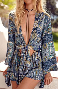 Optimize your comfort and beauty with this Aztec Romper. It's just so easy to throw on and look fab!