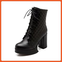 Women's High-Heels Pointed Closed Toe Imitated Suede Low-Top Solid Zipper Boots Black-Chains 39