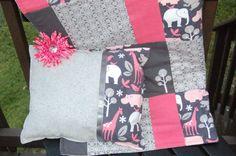 Toddler/Baby Michael Miller Blanket by nicoleballard on Etsy, $59.99    @Lori Pendergraft