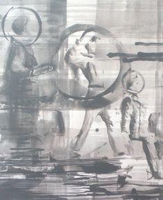 Duncan Swann: Untitled (Salute), 2013 #art #painting #abstractart