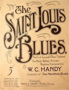 St. Louis Blues - love how mom & grandma played this