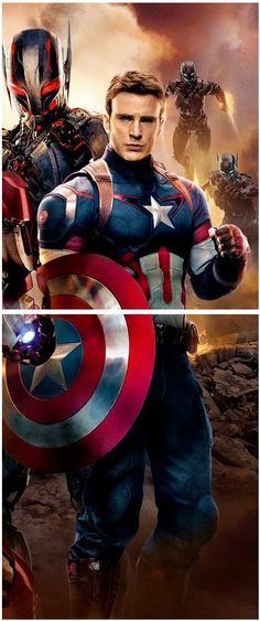 Avengers: Cap America. So excited for this movie!!!!