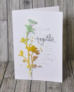 Great ideas for using this Tim Holtz die!