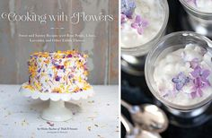 Cooking with flowers  book! Now our plate can look as pretty as our home :)