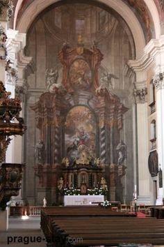 Jan Hiebel - oltář,  kostel neposkvrněného početí Panny Marie, Klatovy - 1716 Prague, Mario