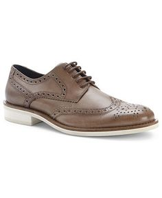 Kenneth Cole Shoes, Smiles and More Wing Tip Oxford Shoes - Mens Lace-Ups & Oxfords - Macy's