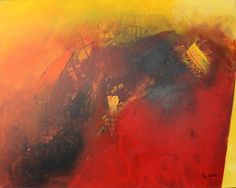 """Saatchi Art is pleased to offer the painting, """"IMPULSE,"""" by Roswitha Schablauer. Original Painting: Acrylic on N/A. Saatchi Online, Artist Painting, Saatchi Art, Original Paintings, Art Prints, Canvas, Orange, Reading, Books"""